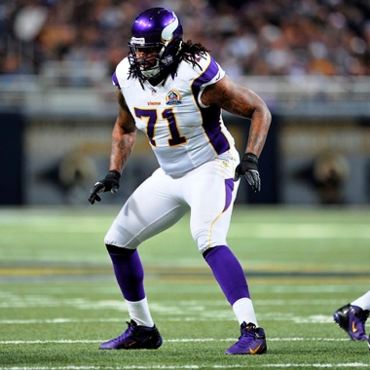 Phil Loadholt re-signs with Minnesota Vikings - Sports Illustrated