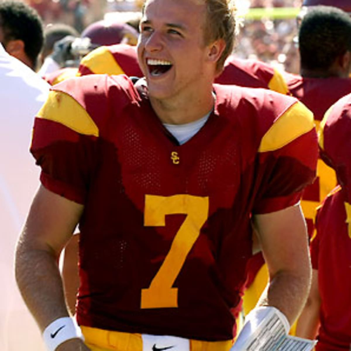 Stewart Mandel: USC freshman QB Matt Barkley looks like next great ...