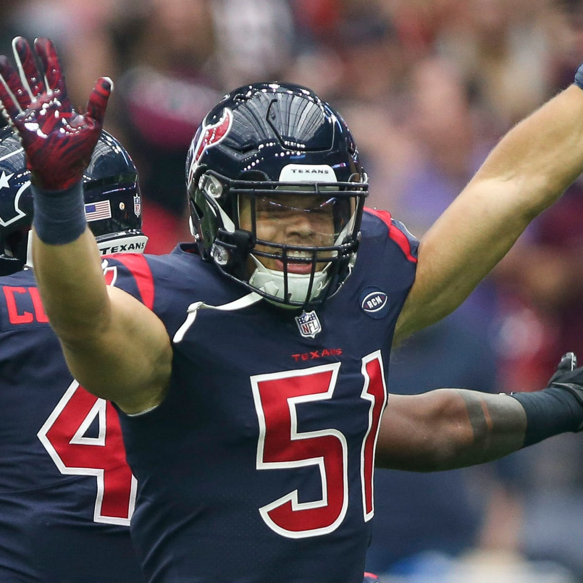 dylan cole houston texans jersey