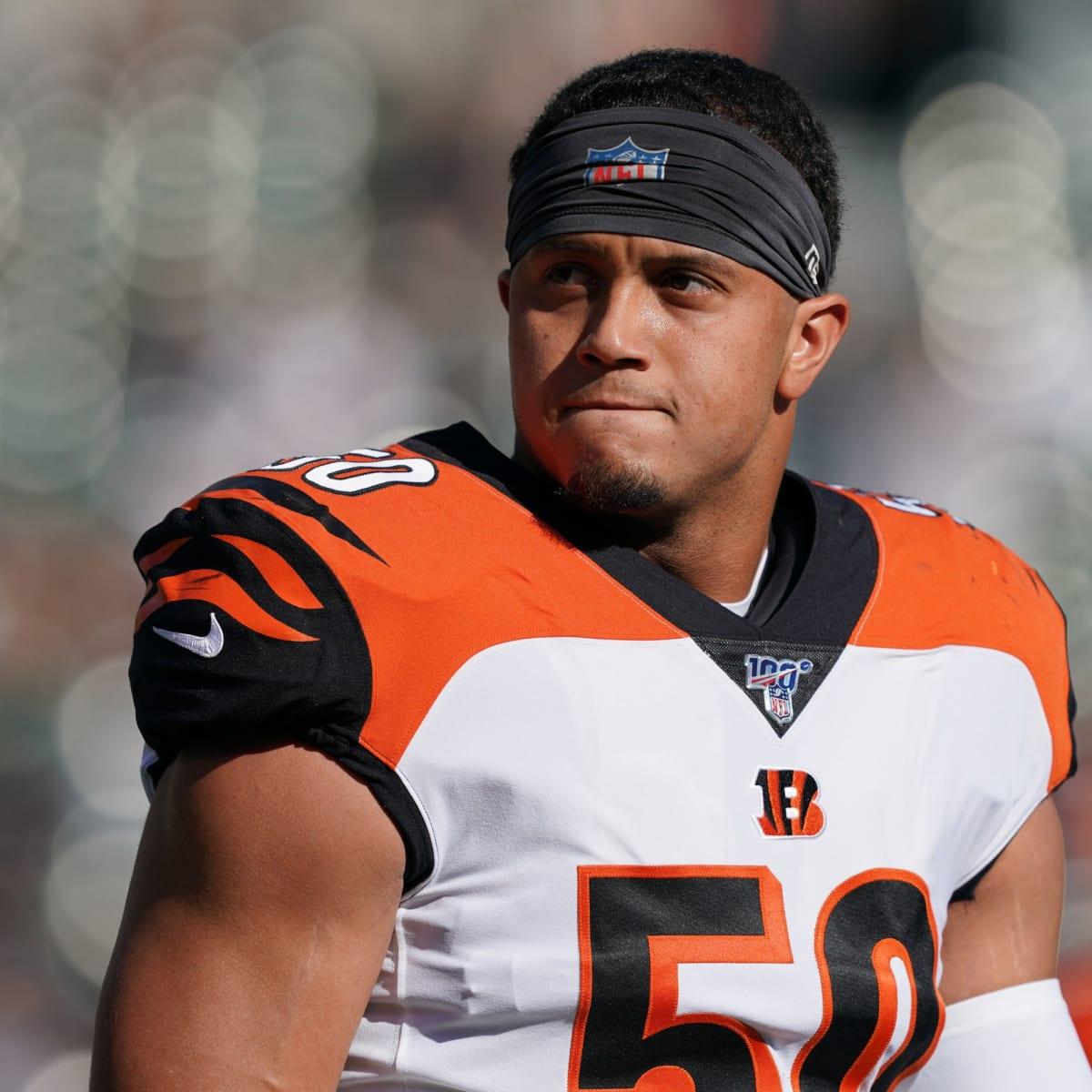 Cincinnati Bengals linebacker Jordan Evans looks like he's ready ...