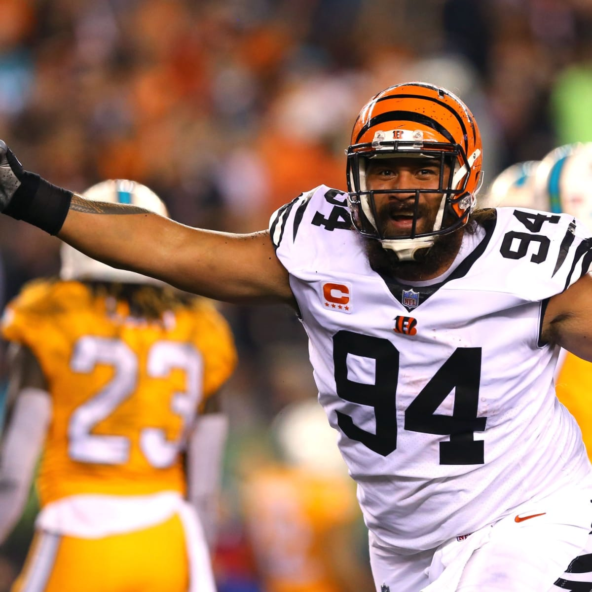 Domata Peko is in 'great shape' and wants to continue his NFL ...