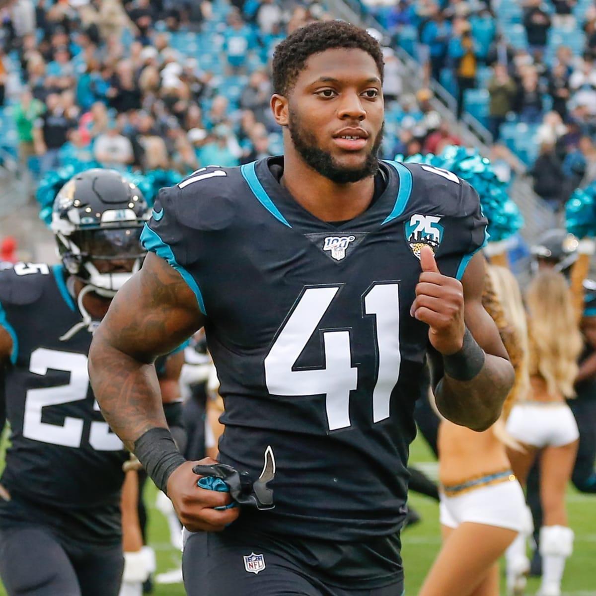 Jacksonville Jaguars #41 Josh Allen Draft Game Jersey - Black