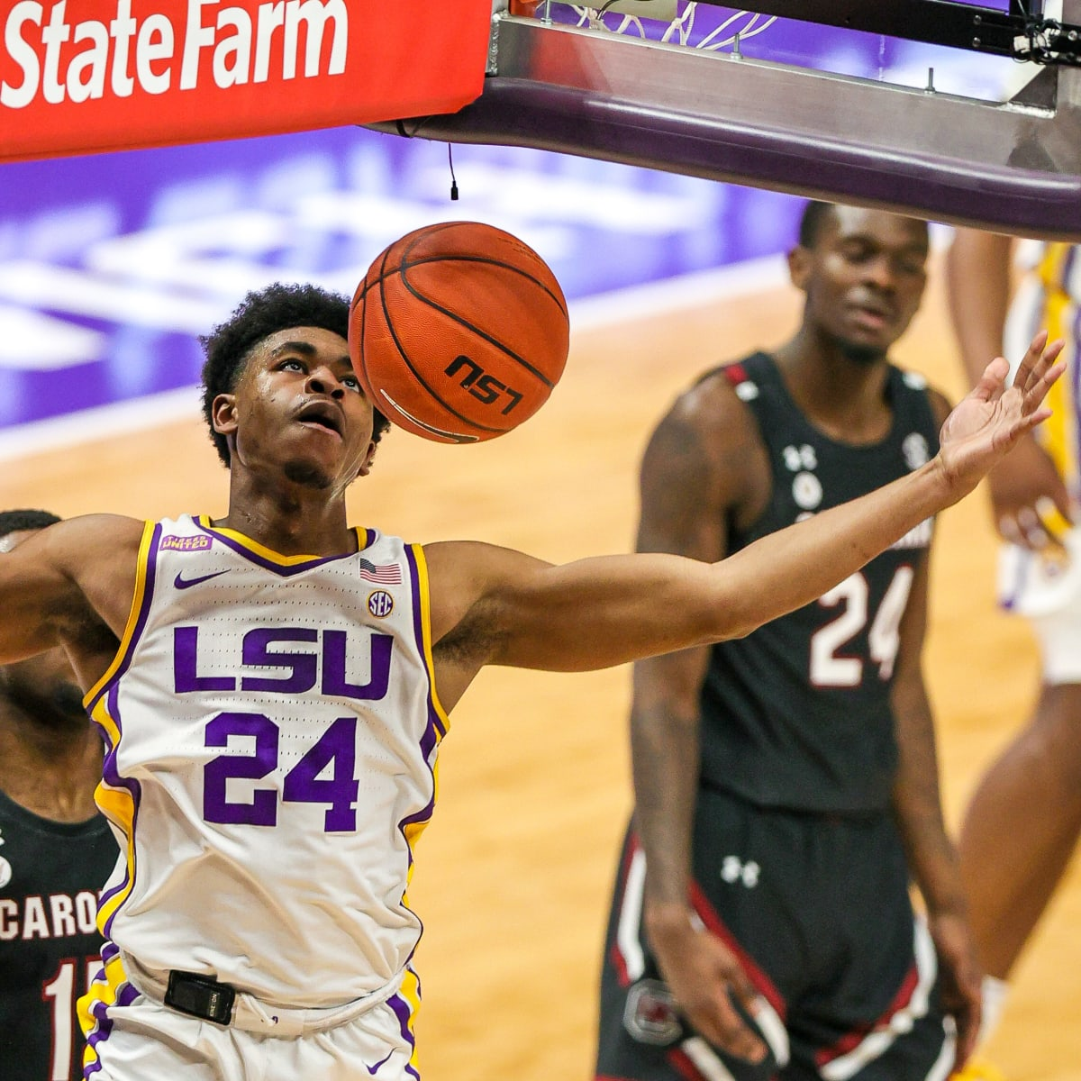 Late Game Free Throws, Clutch Defense Helps LSU Outlast South ...