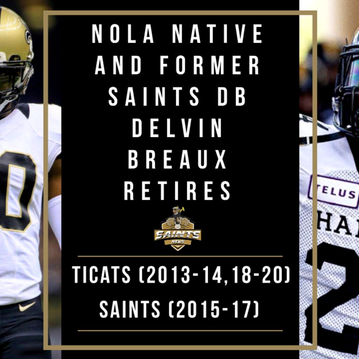 Delvin Breaux Retirement Statement