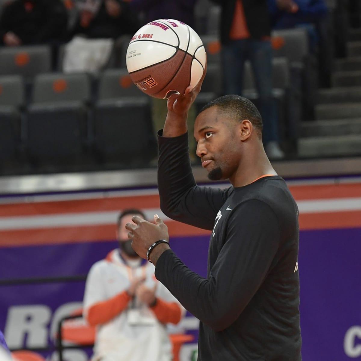 Aamir Simms Clemson Tigers Basketball Jersey