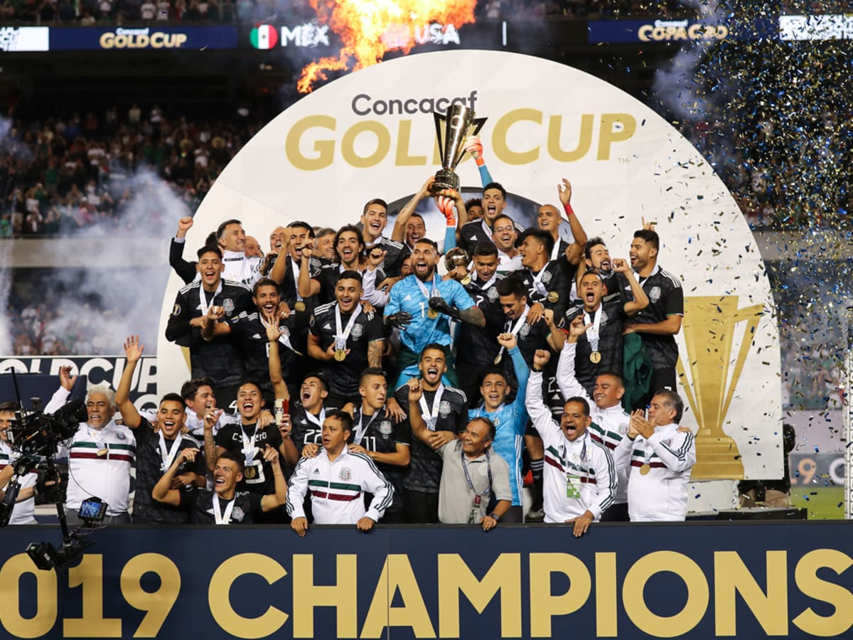 The americans are hoping to claim the trophy for the first time. Gold Cup Final Mexico Wins Title Usa Misses Early Chances Sports Illustrated