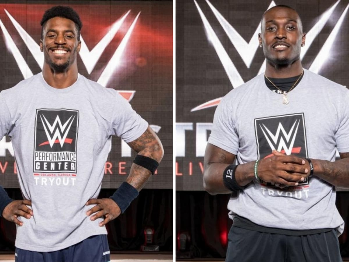 Wwe Tryouts Nfl Players James Wilder Taiwan Jones Attend Sports Illustrated