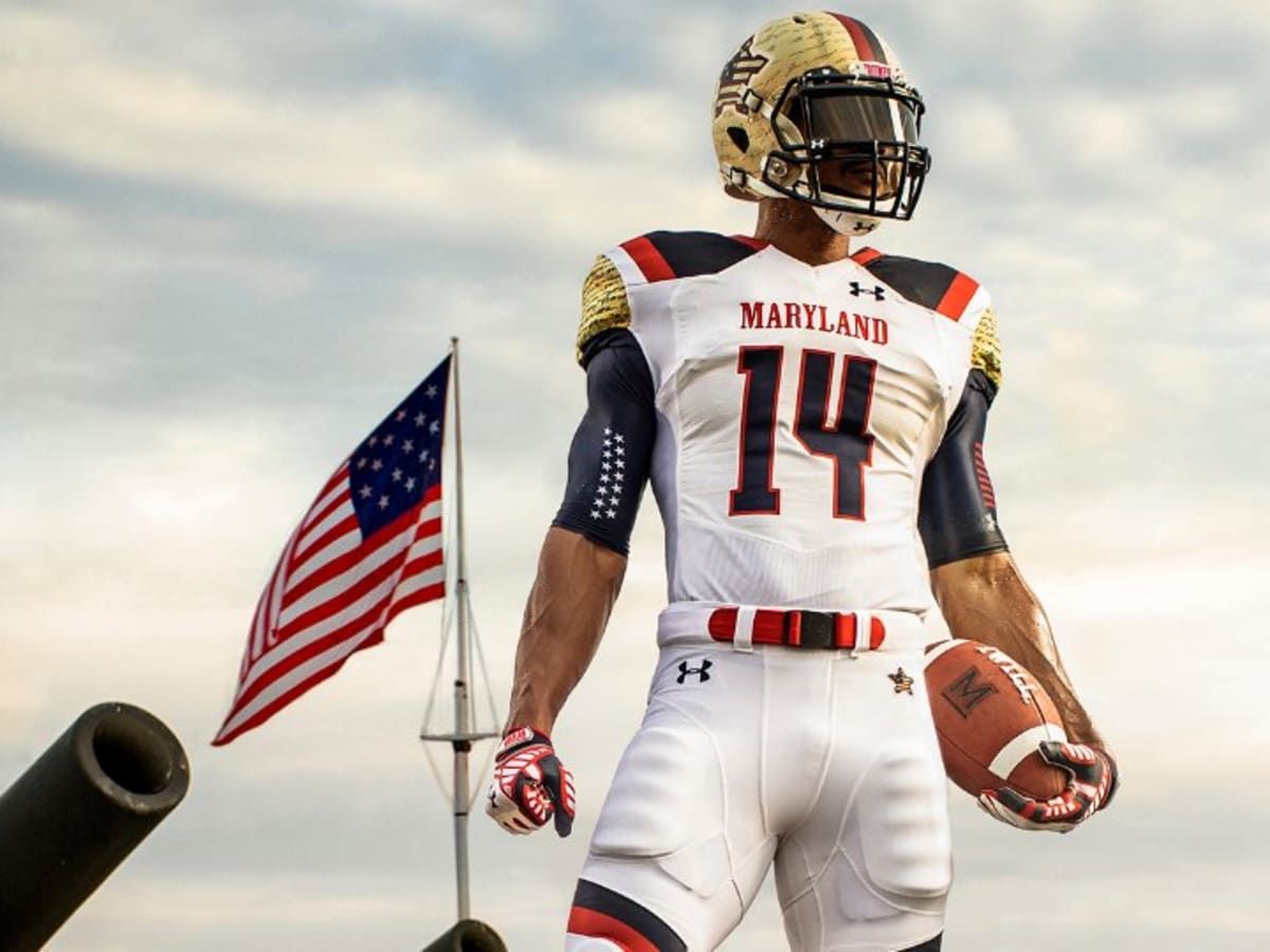 Maryland Terrapins Football Unveils The Most Patriotic Uniform Ever Sports Illustrated