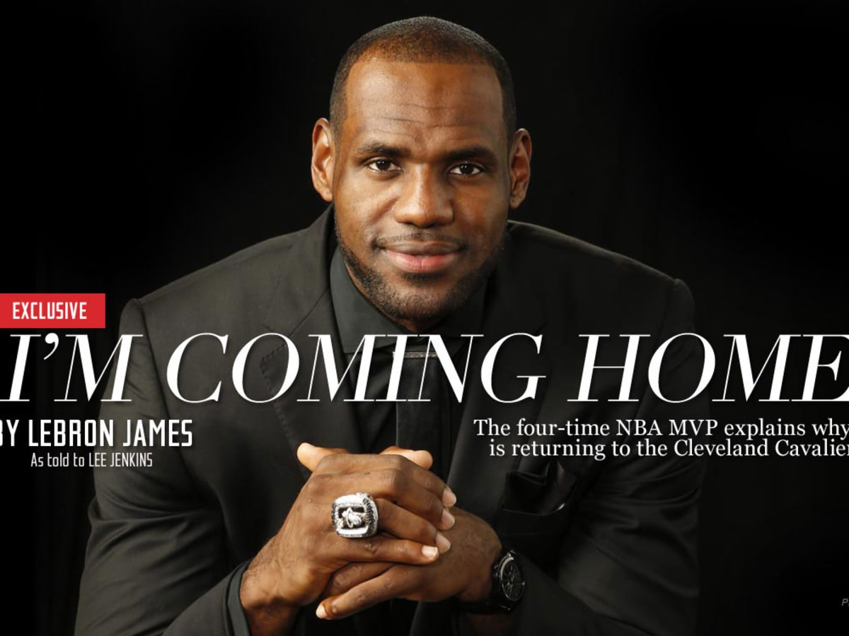 Lebron James Announces Return To Cleveland Cavaliers Sports Illustrated
