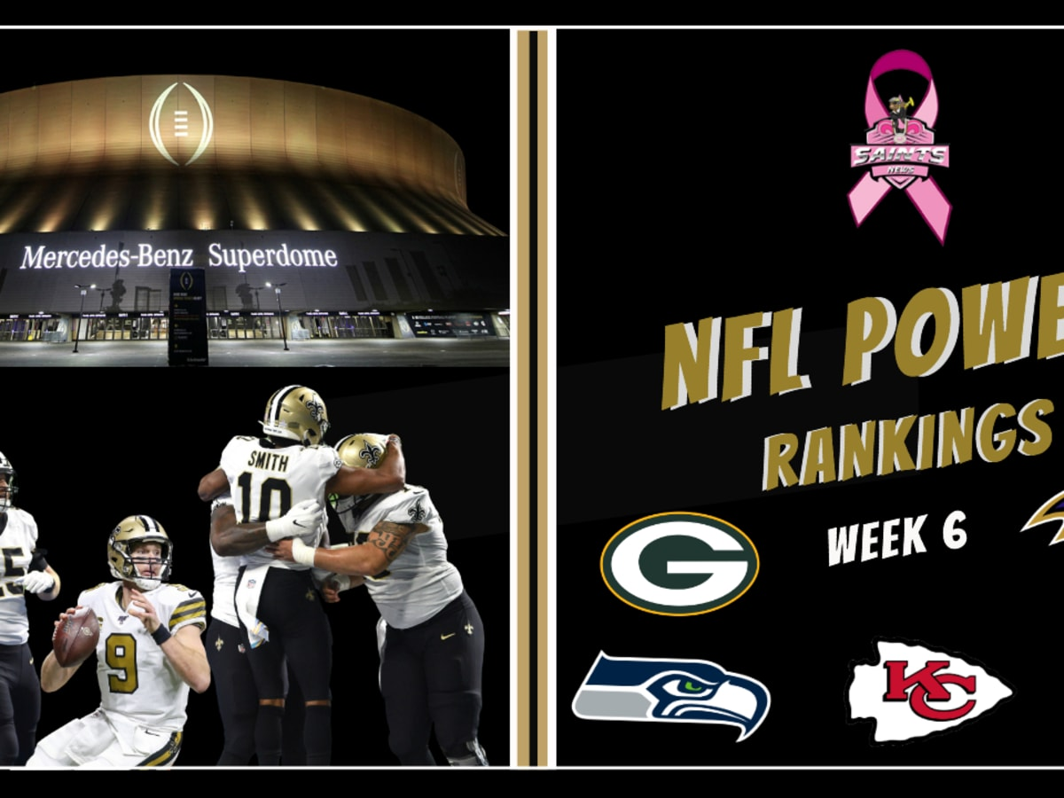 Top 5 Nfl Power Rankings In Week 6 Sports Illustrated New Orleans Saints News Analysis And More