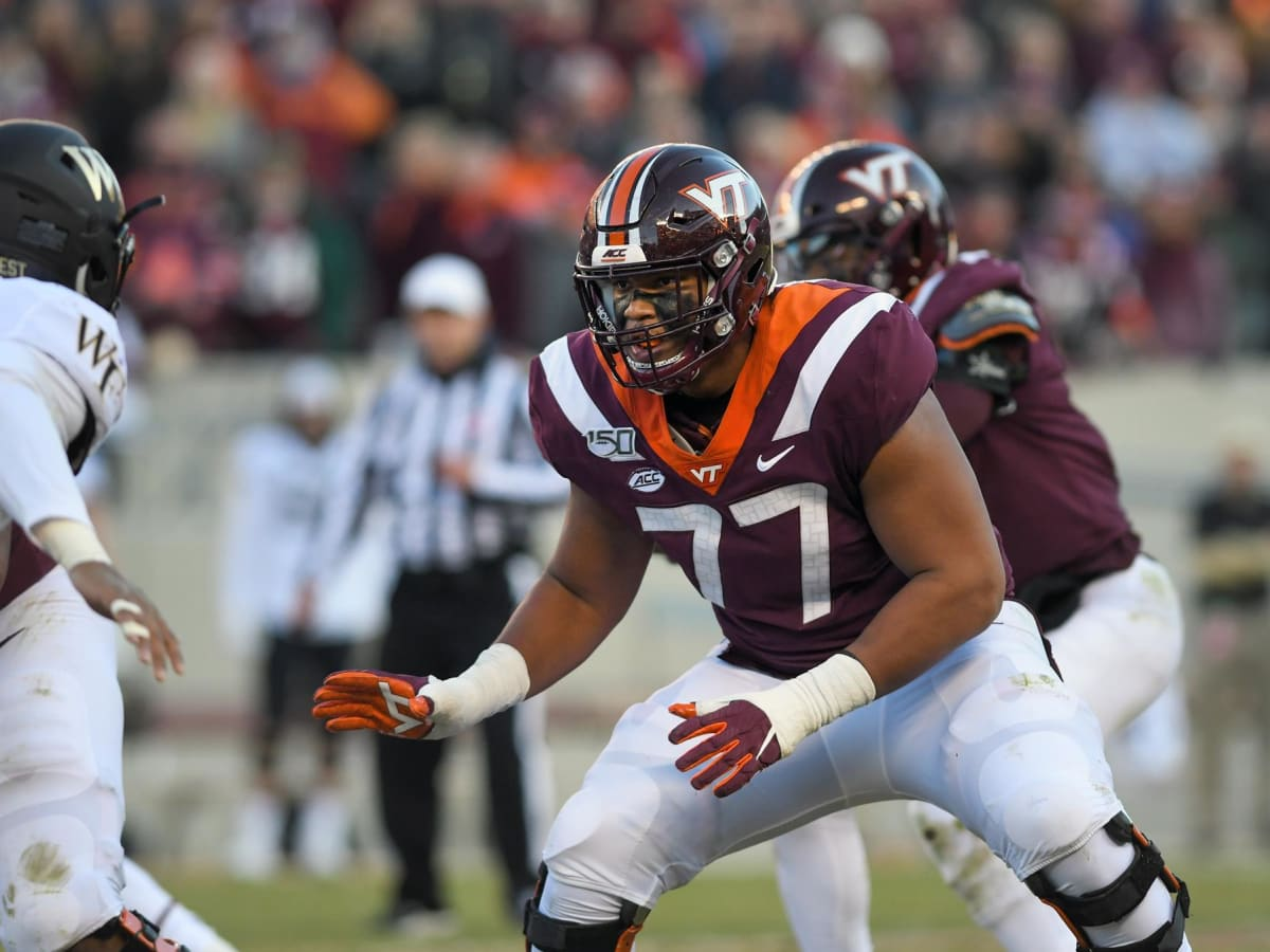 Scouting Lenz: Christian Darrisaw, OT, Virginia Tech - The NFL Draft Bible  on Sports Illustrated: The Leading Authority on the NFL Draft