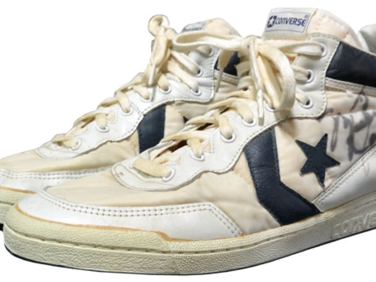 Michael Jordan's 1984 Olympic shoes auction for record $190K ...