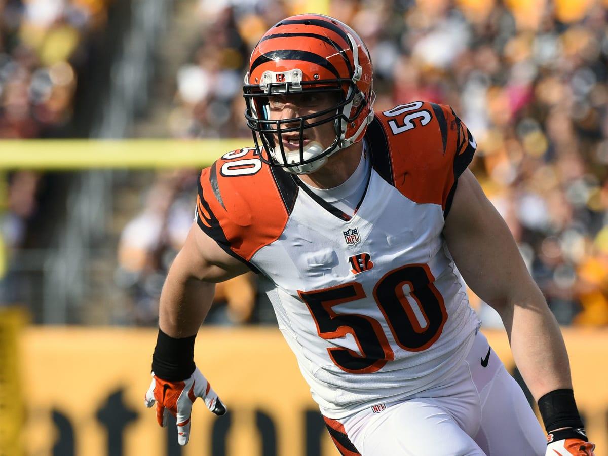 A.J. Hawk: Bengals release veteran linebacker - Sports Illustrated