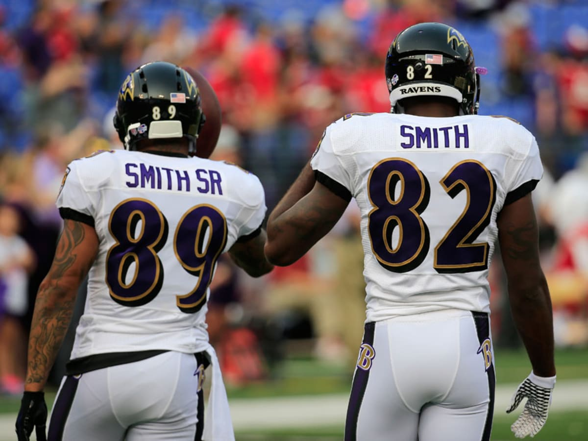 Baltimore Ravens' Steve Smith on changing name on jersey to Smith ...