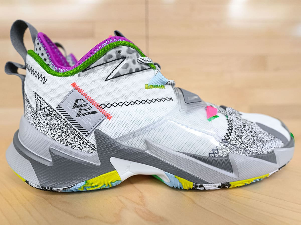 Russell Westbrook, Jordan Brand unveil Why Not? Zer0.3 - Sports ...
