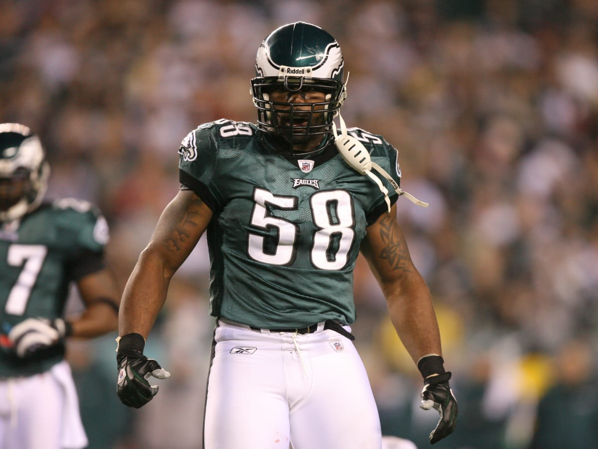Eagles No. 58 Best Worn by Trent Cole