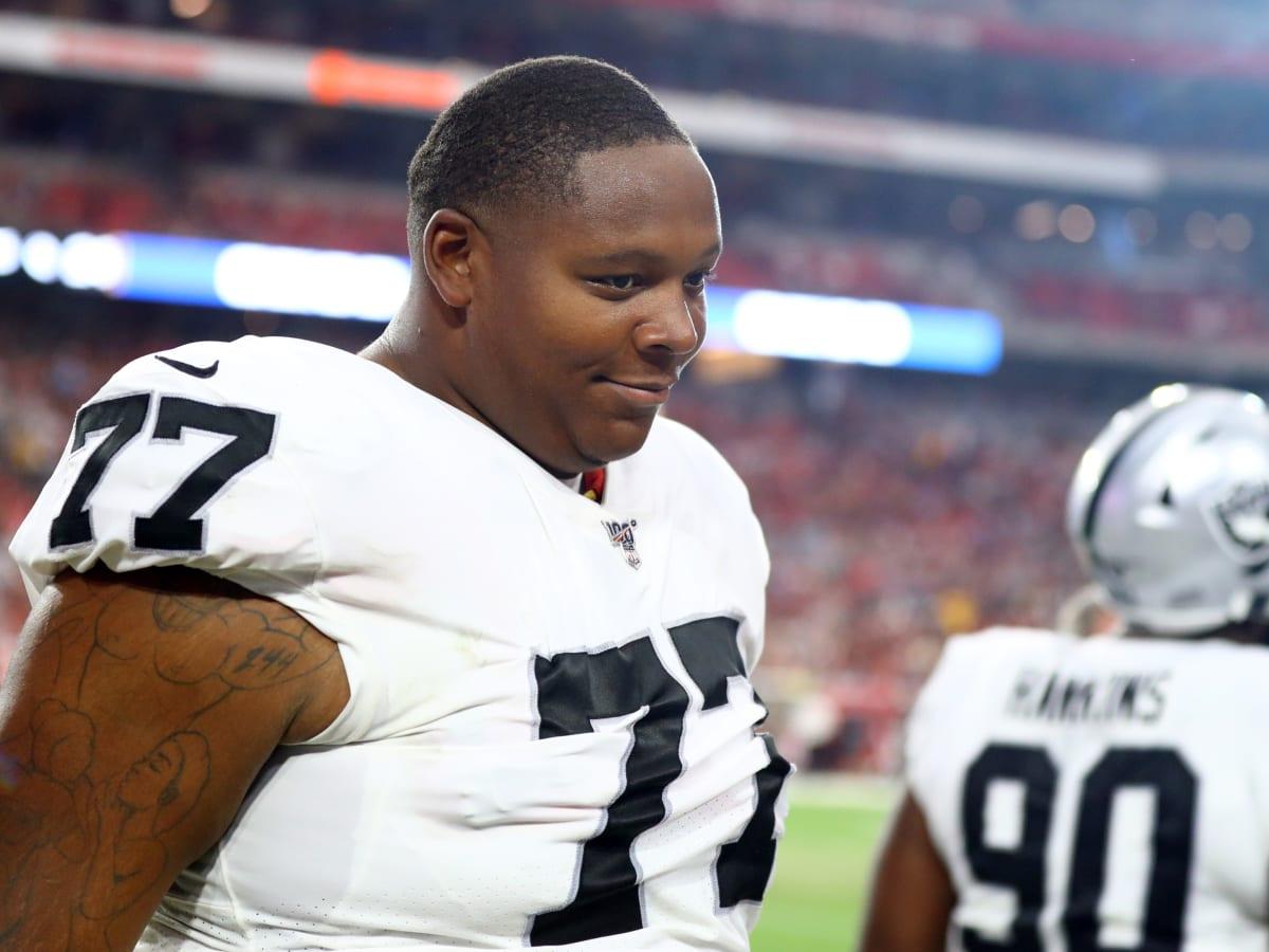 Raiders OT Trent Brown hospitalized after pregame IV mishap ...
