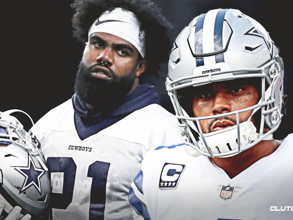 Dallas Cowboys Stars Dak Prescott And Ezekiel Elliott Use Social ...