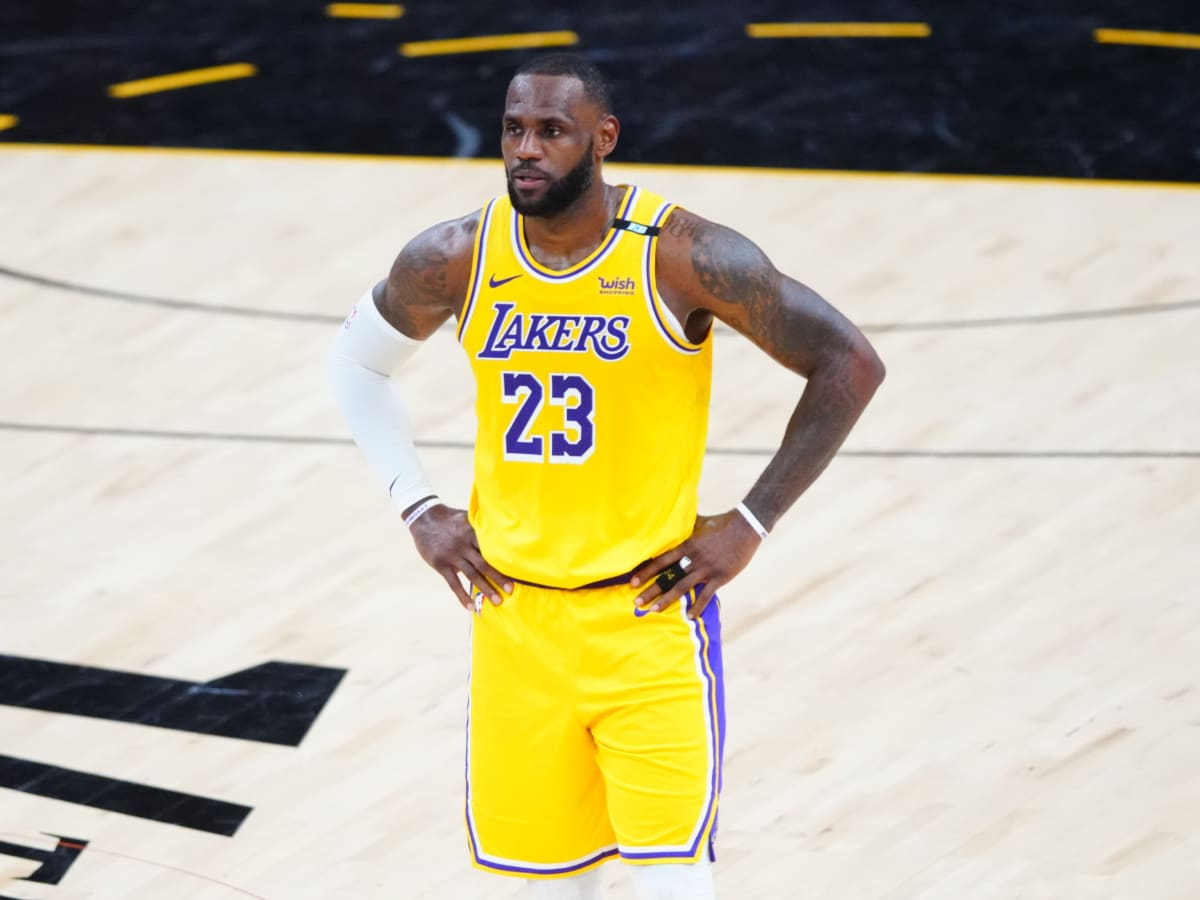 LeBron James jersey number: Lakers star to don No. 6 next season ...