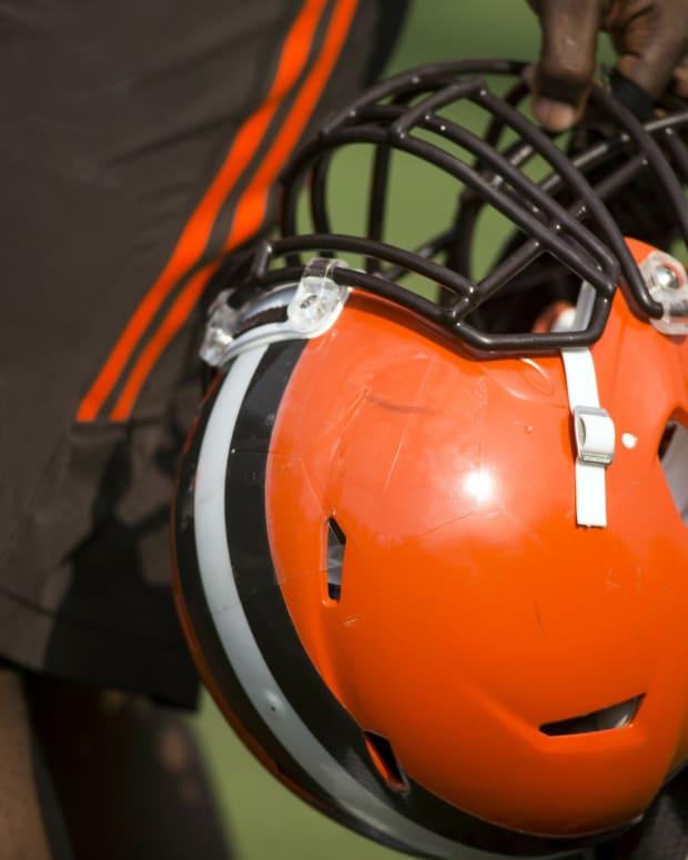 Browns Training Camp Helmet
