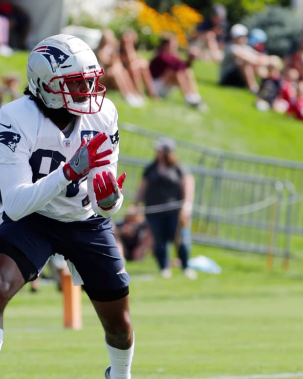 Maurice Harris is most impressive WR at training camp