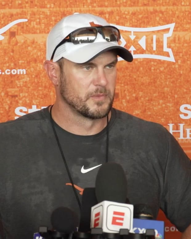 Tom Herman evaluates his QBs