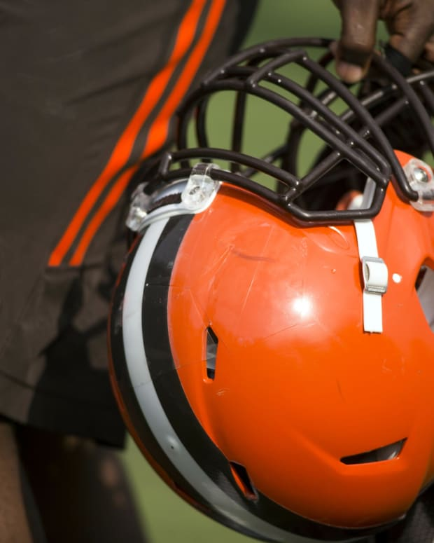 Browns Training Camp Helmet