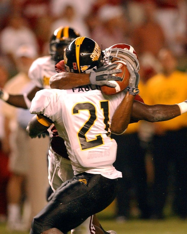 Tyrone Protho's miracle catch against Southern Miss in 2005