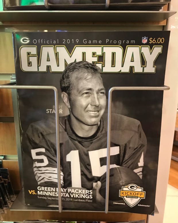 Bart Starr honored by Green Bay Packers, Sept. 15, 2019