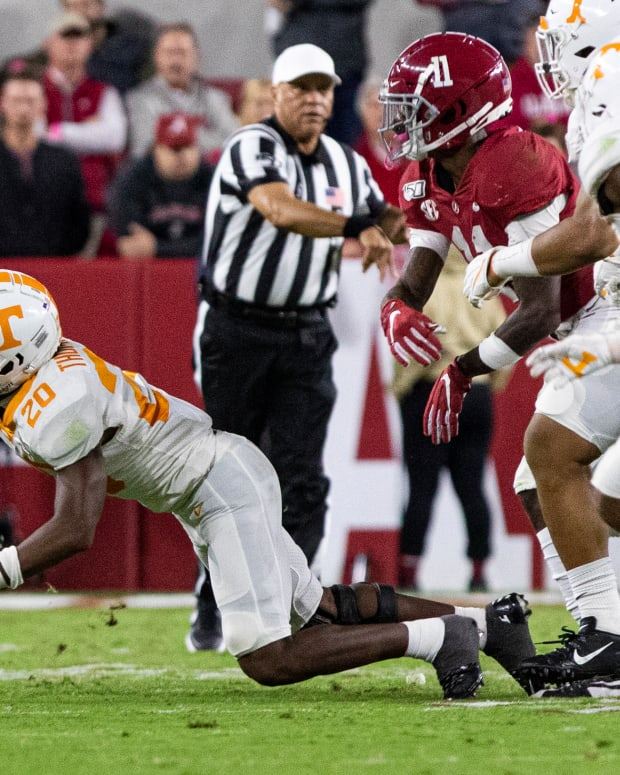 Brian Robinson Jr. against Tennessee