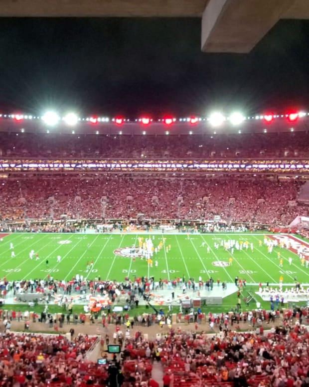 Bryant-Denny Stadium Lights - Sweet Home Alabama