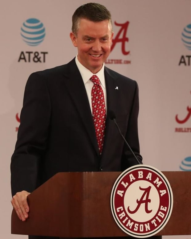 Alabama athletic director Greg Byrne