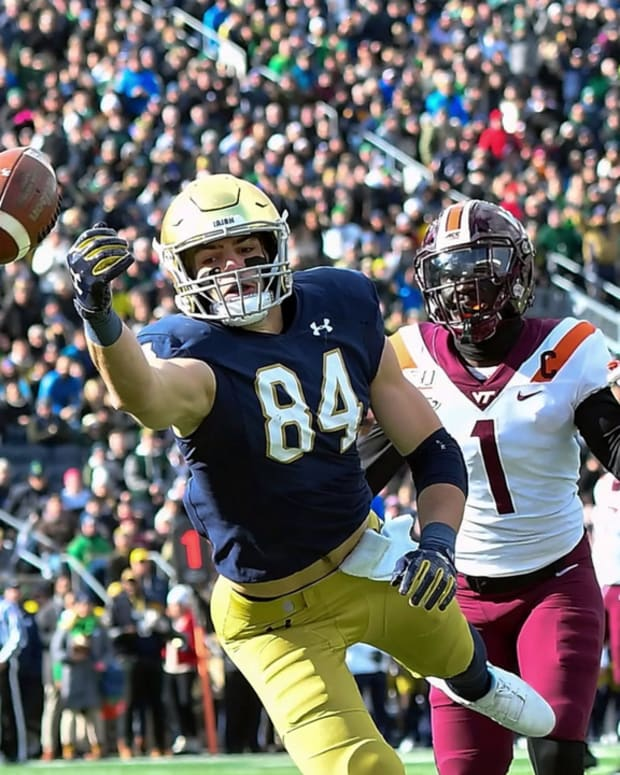Three Questions Boston College and Notre Dame