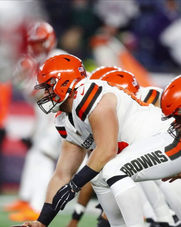 Browns Offensive Line: How Did We Get Here?