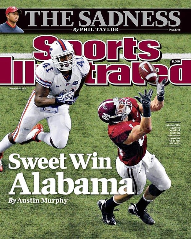 Colin Peek cover Sports Illustrated, Dec. 14, 2009
