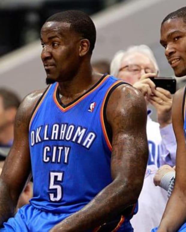 Kevin Durant, Kendrick Perkins