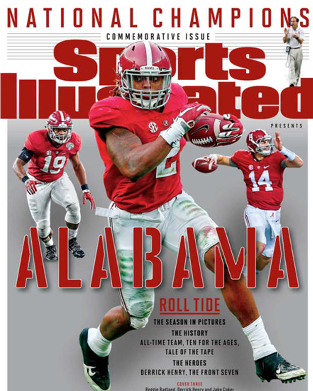 Alabama commemorative issue. Jan. 21, 2016, Derrick Henry
