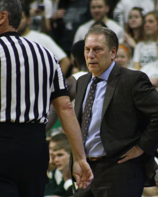 Izzo not looking happy with the ref.  Photo courtesy of Mark Boomgaard