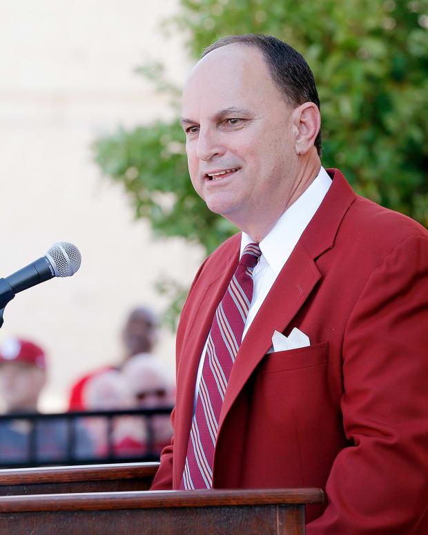 Oklahoma athletic director Joe Castiglione