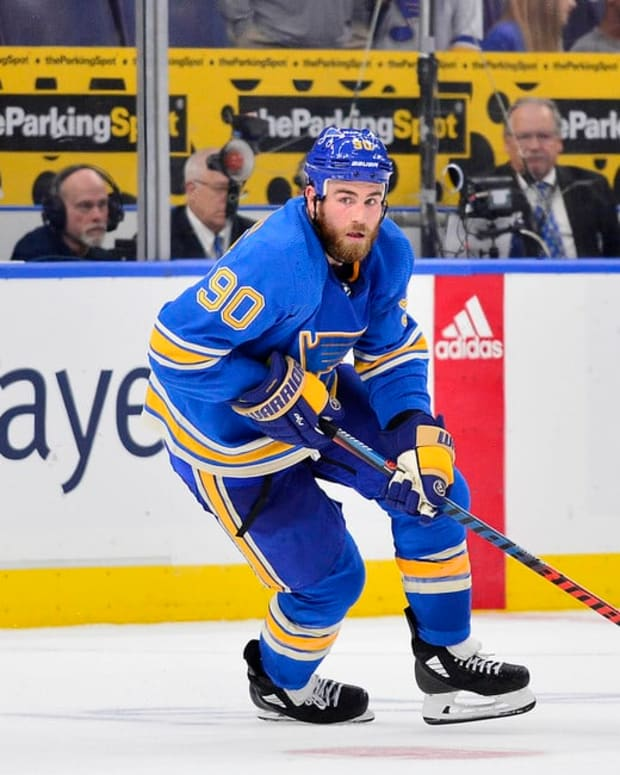 Image result for ryan o'reilly blues