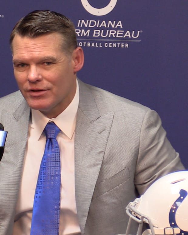 "Indianapolis Colts general manager Chris Ballard sees the NFL's current situation of ensuring safety amid the Coronavirus pandemic as the ""ultimate test of discipline."""