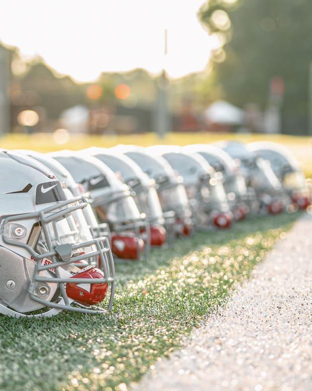 First 2020 Practice - Helmets