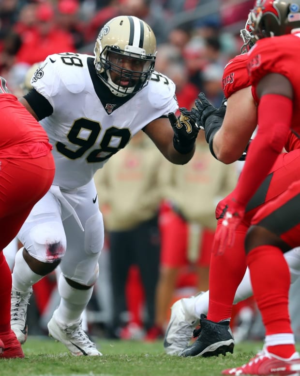 Saints DT Sheldon Rankins