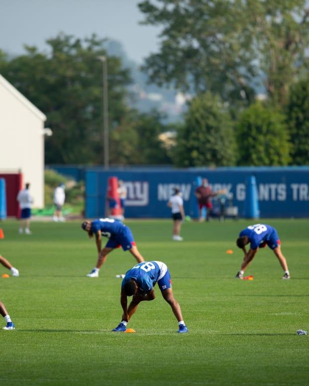 Giants Training Camp