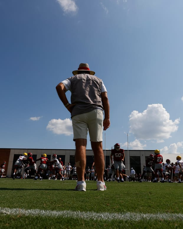 Nick Saban on first day of 2020 fall camp