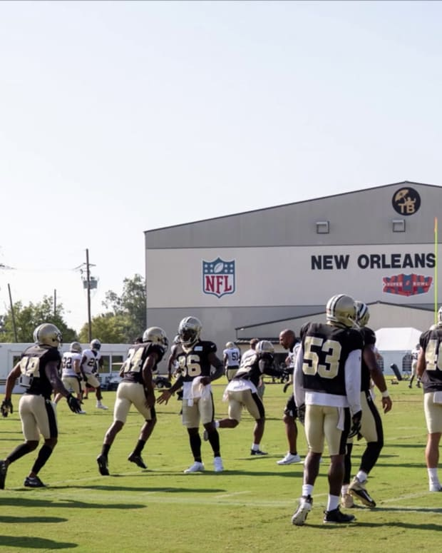 Saints Training Camp - Aug 21st