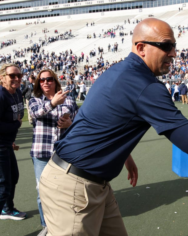 James Franklin victory bell