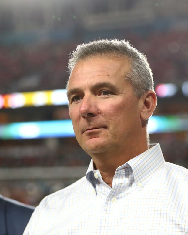Urban Meyer at OSU