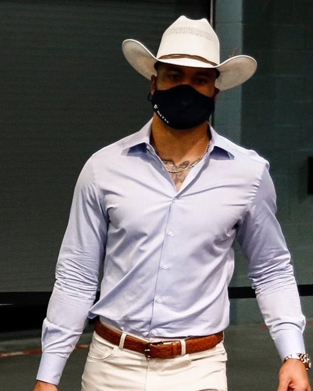 dak cowboy hat mask