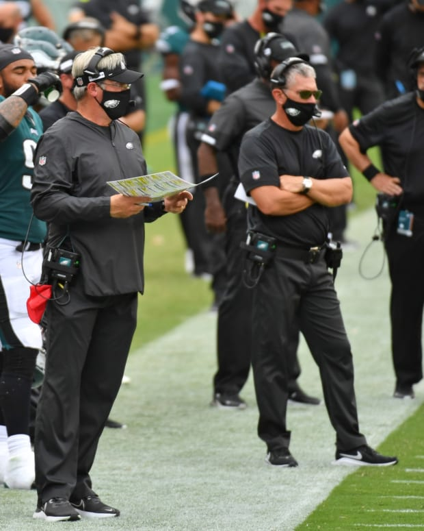 Doug Pederson passed on some difficult decisions